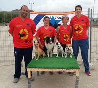 Equipo Star Can Campeonato España 2013