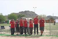 Participantes Grado I de Star Can observando la pista que iban a realizar el domingo